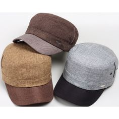 A79 Hot Fashion Adjustable Straw Weave Cool Summer Army Cap Cadet Military Hat