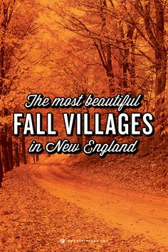 Road Trip to New England's prettiest fall villages The autumn colors are legendary in New England. Here's a guide to the most beautiful villages you should visit this fall! New England States, New England Travel, Fall In New England, New England Fall Foliage, Oh The Places You'll Go, Places To Travel, Places To Visit, Travel Destinations, Massachusetts