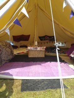 Karma Canvas bell tent & Karma Canvas bell tent | Our Family Bell Tent Camping/Glamping ...