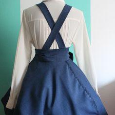 women's pinafore dress pattern free - Google Search                                                                                                                                                                                 More