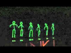 Talent Show Glowstick Dance OR maybe a cool idea for night games...glow stick your outline!