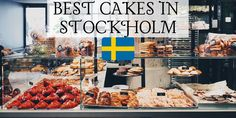 Mr Cake in Östermalm /Stockholm Sweden with Drone footage of the area Mr. Cake brings an American sensibility and style to your Swedish fika. Stockholm Food, Stockholm Metro, Homemade Sweets, Fika, Cake Art, Cinnamon Rolls, Beautiful Cakes, Sweden, Cake Decorating
