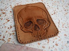 skull leather patch leather backpack patches custom leather