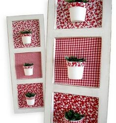 Diy And Crafts, Arts And Crafts, Shabby Chic Crafts, Fabric Houses, Diy Home Decor Projects, Valentines Day Decorations, Creative Decor, Porch Decorating, Fabric Crafts