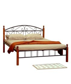 Double King Size Bed, Double Beds, Metal Beds, King Beds, Outdoor Furniture, Outdoor Decor, Wood, Home Decor, Full Beds