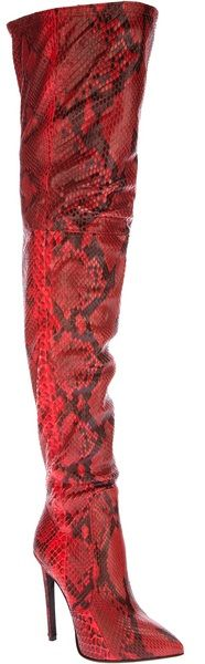 Roberto Cavalli Knee high Boot | The House of Beccaria# | cynthia reccord