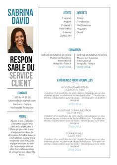 Eblouissant - Un gros coup de cœur pour ce CV très pro!