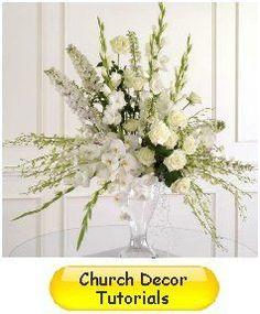 Church Wedding Decorations - Easy DIY Flower Tutorials