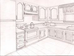 2pt. perspective | Point Perspective Drawing Ideas Point perspective artwork cake