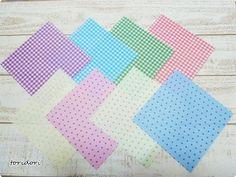 セリアの折り紙