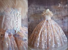Photography Props, Children Photography, Fine Art Photography, Fairytale Dress, Floral Gown, Baroque Fashion, Handmade Dresses, Birthday Dresses, Stunning Dresses