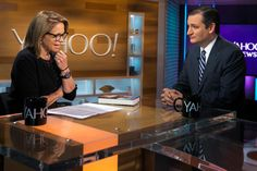 """The Texas Republican and presidential candidate joined Yahoo global news anchor Katie Couric to discuss his campaign, his record and his new book, """"A Time for Truth."""" Watch a replay of the live stream here."""
