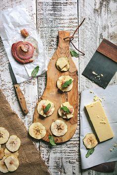 Pancetta, Sage, + Apple Crisps | Adventures in Cooking by Eva Kosmas Flores | Adventures in Cooking, via Flickr