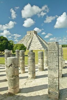 The Pyramid Of Kukulkan,  Chichen Itza, Mexico