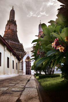 temple of dawn, bangkok, thailand #buddhist