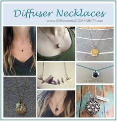 diffuser necklaces asst