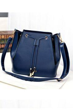 Fashion Crossbody Bag With Drawstring