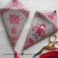 Needlework Christmas ornaments - cross stitch pattern