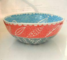 Made to Order Large 12 inch Salad Serving Bowl by CeramicaBotanica, $150.00