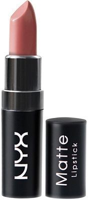 Nyx Cosmetics Matte Lipstick in Whipped Caviar | Highly pigmented, richly formulated and long-wearing. The formula glides on smoothly and stays put with a non-drying matte finish.