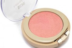 Milani Mineral Blush_Luminous – supposed to be a exact Dupe for Nars Orgasm blush a multiple award winning blush