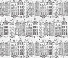 dutch houses black and white