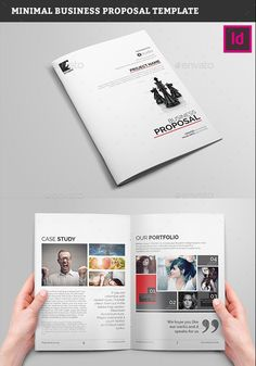 Design and Inspiration Magazine Business Planning, Business Tips, Business Proposal Format, Indesign Templates, Business Plan Template, Proposal Templates, Book Layout, Banner Design, Case Study