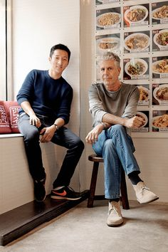 TASTE ALLIANCE | Wang (left) has signed on to bring Xi'an Famous Foods to Bourdain's...
