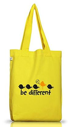 Shirtstreet24, Be Different, Jutebeutel Stoff Tasche Earth Positive (ONE SIZE) - http://herrentaschenkaufen.de/shirtstreet24/shirtstreet24-be-different-jutebeutel-stoff-one
