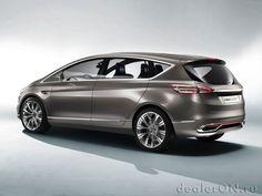 Концепт S-Max Concept предвещает новейшие дизайн и технологии Ford [Фотогалерея]   Новости автомира на dealerON.ru