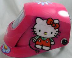Hello Kitty Welding Mask
