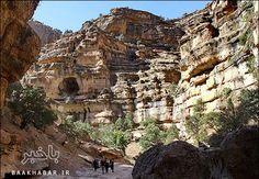 طبیعت زیبای دره شیرز در کوهدشت