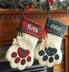 20 christmas gnome ornaments a quick, adorable craft 00015 * kebun. Pet Christmas Stockings, Pet Stockings, Christmas Gnome, Christmas Animals, Christmas Projects, Christmas Crafts Sewing, Dog Christmas Ornaments, Country Christmas, Baby Christmas Stocking