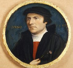 Hans Holbein the Younger - 1533 - Portrait of a Young Man with a Carnation. Oil and tempera on oak, cm, The Bearsted Collection, Upton House, Banbury. Renaissance Portraits, Renaissance Art, Renaissance Clothing, Leo Tolstoi, List Of Paintings, Hans Holbein The Younger, Albrecht Dürer, Jan Van Eyck, Miniature Portraits