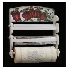 Apple Kitchen Paper Towel/Foil Dispenser