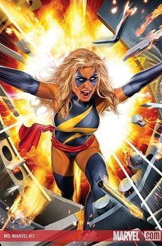 Greg Horn - Miss Marvel