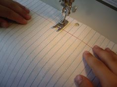 Homestead Revival: Beginning Sewing Lessons
