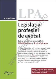 Legislatia profesiei de avocat - Dinu, Spiridon
