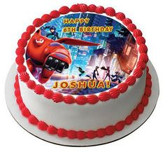 big hero 6 cake Google Search Cake ideas Pinterest Hero Big