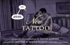 Novel twist for a new graphic novel