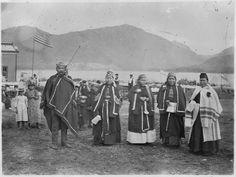 File:Group in native dress taken on occasion of Edward Marsden's wedding day at Metlakahtla. - NARA - 297646.jpg