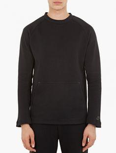 Nike,Black Tech Fleece Sweatshirt,BLACK,0