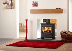 Image result for double sided wood burning stove