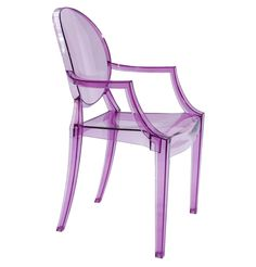 The Matt Blatt Replica Philippe Starck Louis Ghost Armchair by Philippe Starck - Matt Blatt Colorful Furniture, Furniture Decor, Sillas Louis Ghost, Dining Chairs, Dining Table, Philippe Starck, Home Gadgets, Chair Design, Armchair