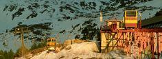 Ski resort of Brezovica / Strpce