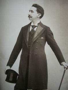 Robert de Montesquiou, photographed most probably by Nadar.