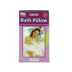 Vinyl bath pillow, inflatable - Pack of 24 by bulk buys. $30.62. Blow this pillow up and place it at the back of the bathtub. Then lean back for a relaxing and comfortable bath. Package includes 1 bath pillow which only needs to be blown up for immediate use. Package includes 1 deluxe bath pillow.