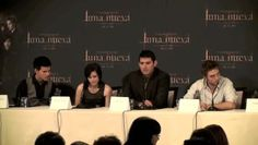 NEW MOON press conference Madrid Spain 2009