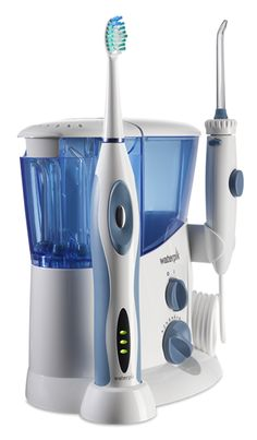 Waterpik's new Complete Care combines superior Water Flosser and Sonic Toothbrush technologies in one product and is up to 70% more effective than Sonicare® FlexCare. Now all of your brushing and flossing needs can be accomplished with one convenient device that saves counter space and power outlets.