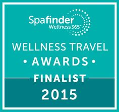 Spafinder wellness travel awards 2015 , AMA is nominate as  Best New Spa & Wellness Property.
